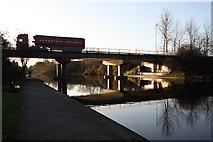 SK5537 : Redfield Road bridge by Richard Croft