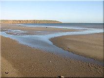 TA1280 : Filey beach in November by Pauline E