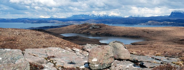 Glacially scoured Wester Ross