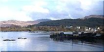 NM5643 : Decommissioned Fishing Boats by Robert W Watt