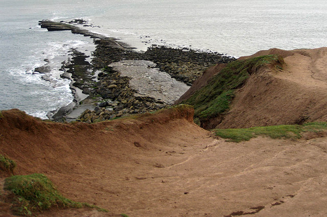 Filey Brigg from Carr Naze