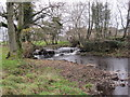 NY6861 : Weir on Park Burn at Park Burnfoot by Les Hull