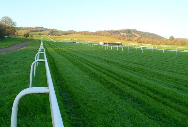 Racecourse surface, Chepstow Racecourse