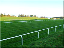 ST5295 : Two parallel racing tracks at Chepstow Racecourse by Jaggery