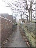 SE2526 : Footpath - Oak Road by Betty Longbottom
