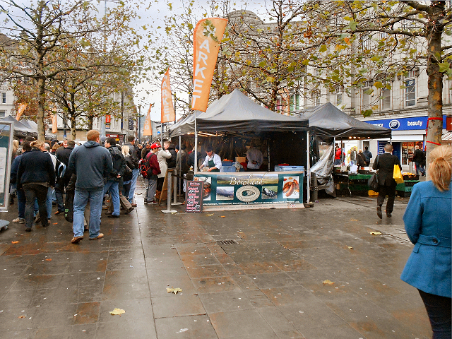 Piccadilly Gardens, Christmas Market