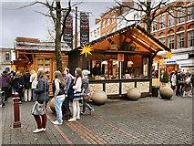 SJ8398 : Christmas Market, St Ann's Square by David Dixon