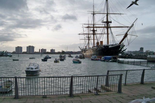HMS Warrior - Portsmouth Hard