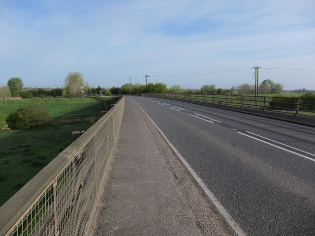 A142 crossing the Ouse Washes