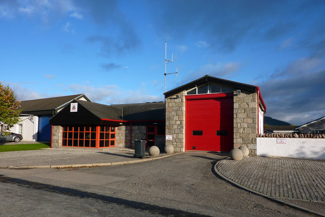 Aviemore fire station