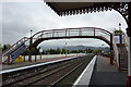 NH8912 : Footbridge at Aviemore railway station by Phil Champion