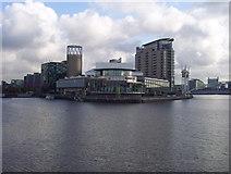 SJ8097 : Lowry Centre, Salford Quays by Richard Dwyer