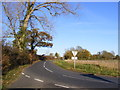 TM2773 : B1117 Laxfield Road by Geographer