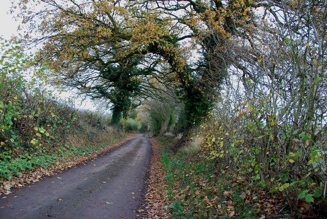 Country Lane near Croxton
