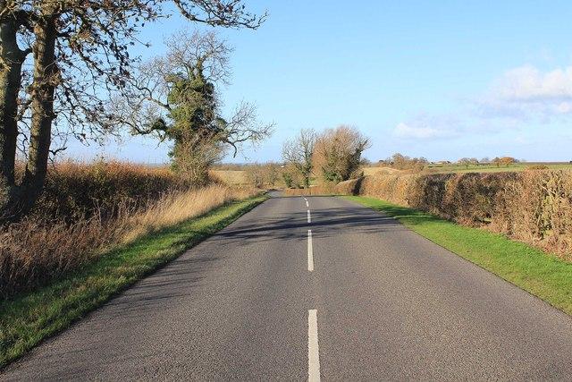 Lane towards Fosse Way
