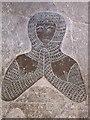 TF5061 : Brass of Knight in Armour, All Saints' church, Croft by J.Hannan-Briggs