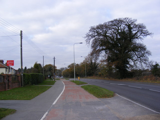 A1214 Woodbridge Road, Kesgrav...