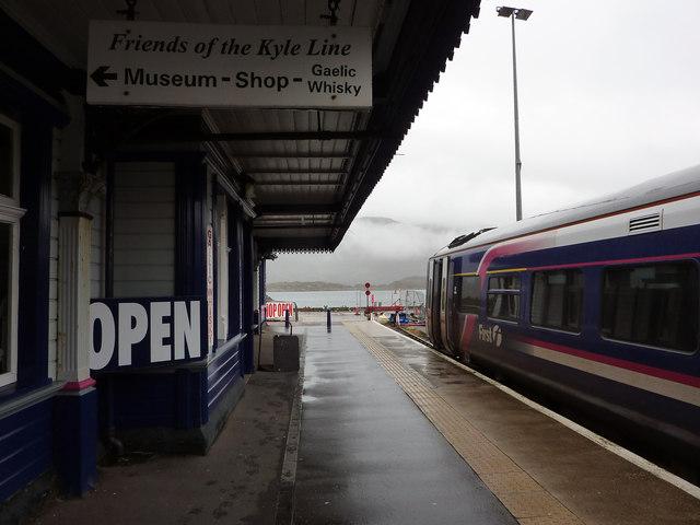 Kyle of Lochalsh station platform