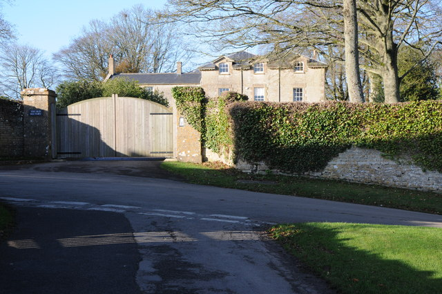 Entrance to the Old Rectory, Duntisbourne Abbots