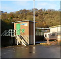 ST2390 : River monitoring station, Risca by Jaggery