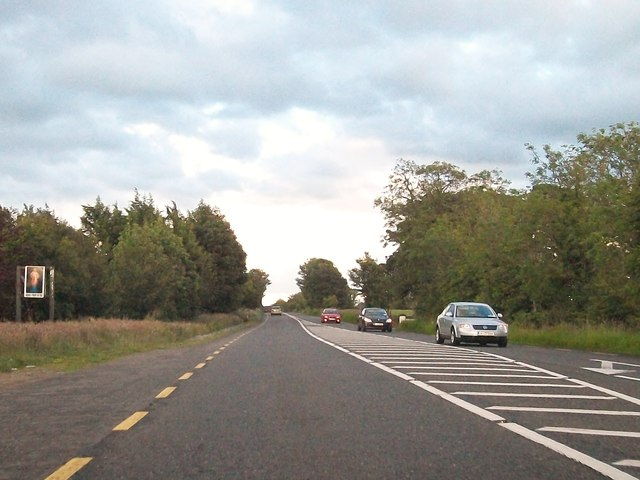 The N4 at Clonahussey near Edgeworthstown