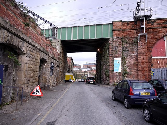Railway Bridge over Pottery Lane