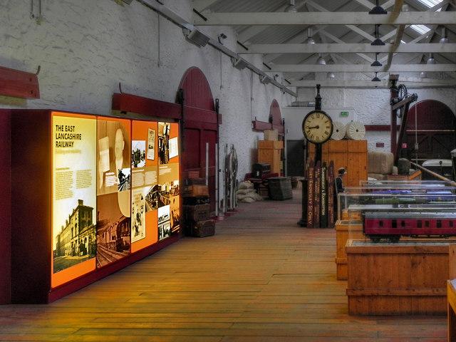 Bury Transport Museum (interior)
