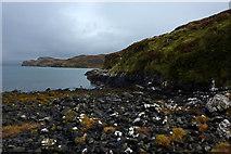 NG3254 : Rocky beach at Diubaig by Phil Champion