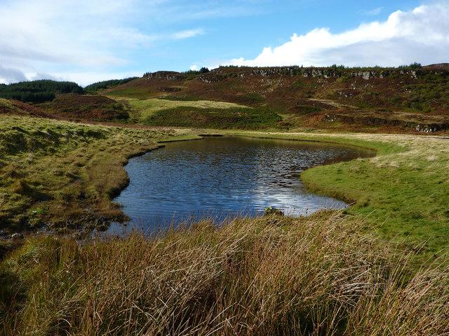 Lochan at Diubaig
