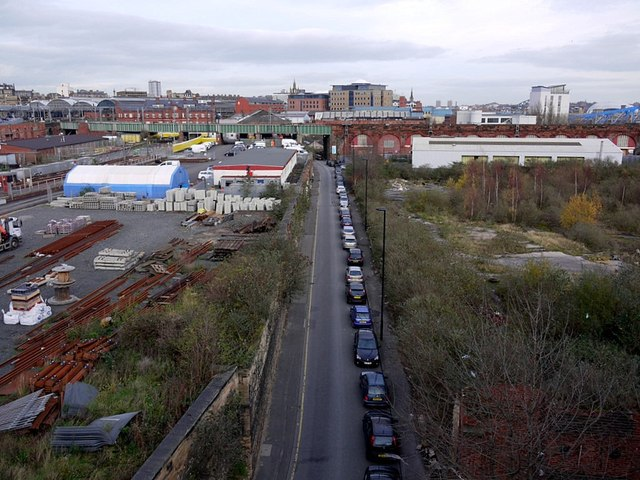 Pottery Lane from Redheugh Bridge