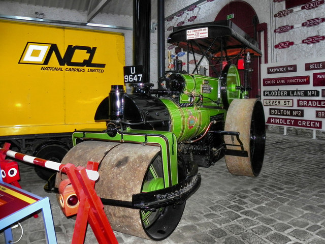 "Bury Transport Museum, Steam Roller ""Hilda"""
