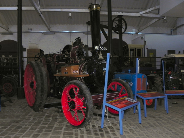 Steam Traction Engine at Bury Transport Museum
