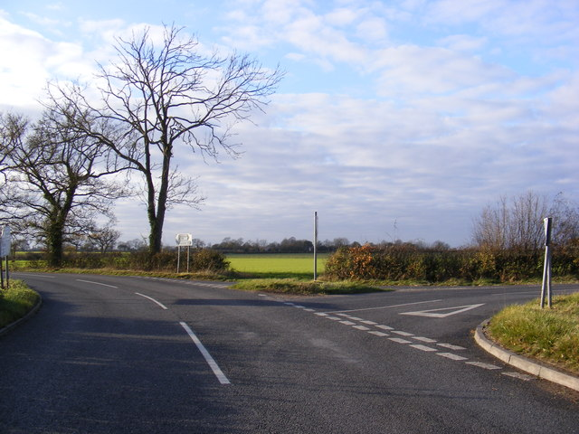 B1116 Laxfield Road