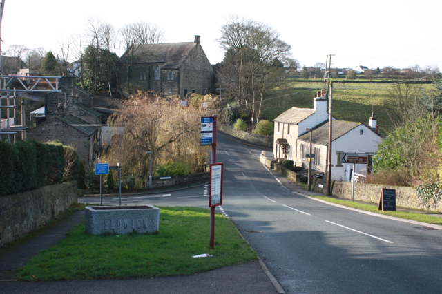 Otley Road junction with Spring Lane, Eldwick
