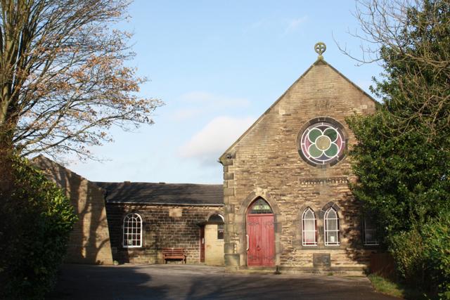 The old Wesleyan Methodist Chapel, Eldwick