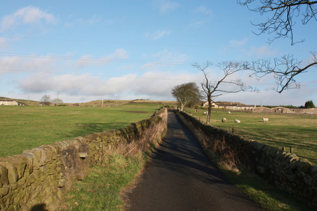 Lane to Whitecroft Farm, Eldwick