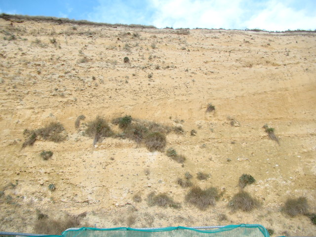 View of Black Rock from the walkway behind Asda