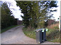 TM2277 : Footpath to Syleham Road & Syleham Hall Road by Adrian Cable