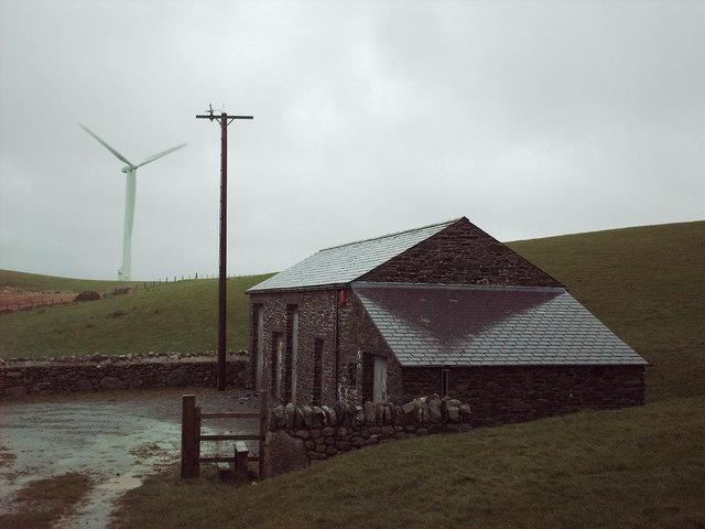 Mynydd Gorddu windfarm 33kV substation