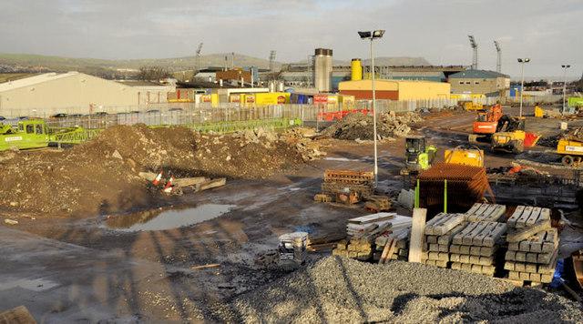 New train maintenance depot, Belfast (22)