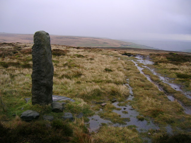 Standing Stone on High Brown Knoll