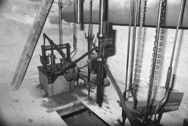 Parkandillick Cornish engine - the cockpit