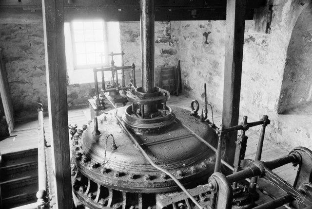 South Crofty Mine - Robinson's Cornish beam engine