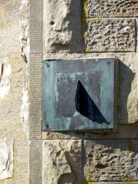Sundial, Caputh Parish Church