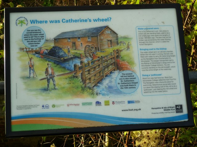 Information at St Catherine's Lock