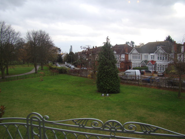 View of Emerson Road from Valentine's Mansion #2
