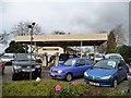 SJ7373 : Wayside Garage, Crown Lane by Christine Johnstone