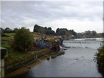 SD7909 : Bealey's Weir, River Irwell by Alex McGregor