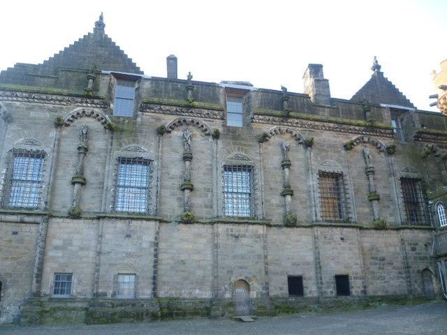 James V's Palace, Stirling Castle