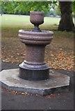 TQ3165 : Fountain, Wandle Park by N Chadwick